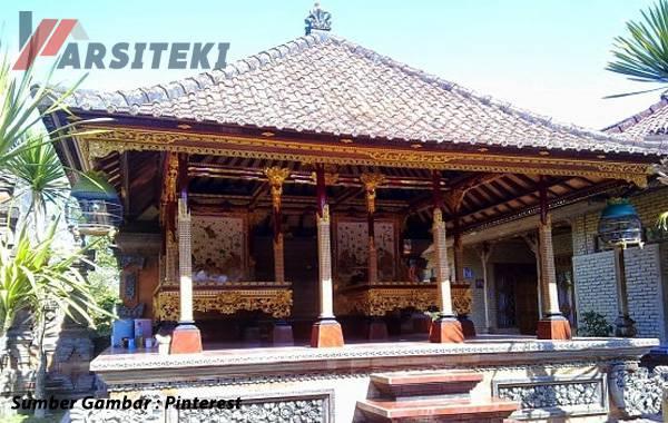 Desain Rumah Klasik Gaya Bali