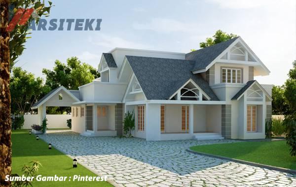 Desain Rumah Klasik  Gaya Belanda