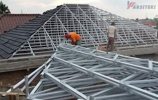 Biaya Pembuatan Atap Baja Ringan