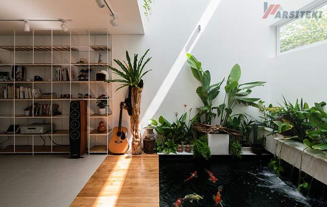 50 Desain Kolam Ikan Minimalis Dan Gambar Terbaik 2021 Arisiteki