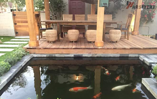 Gambar Kolam Ikan Minimalis