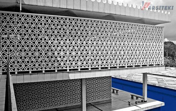 Gambar Roster Beton Masjid