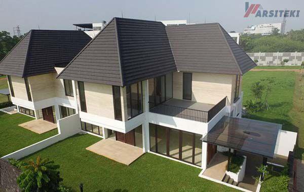 Gambar Rumah Dengan Genteng Beton