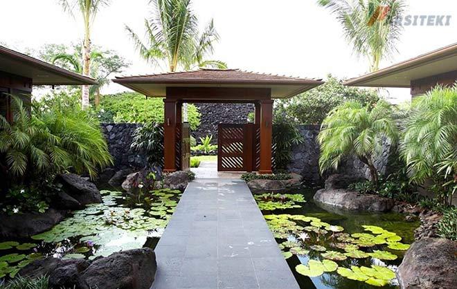 Kolam Ikan Minimalis Villa