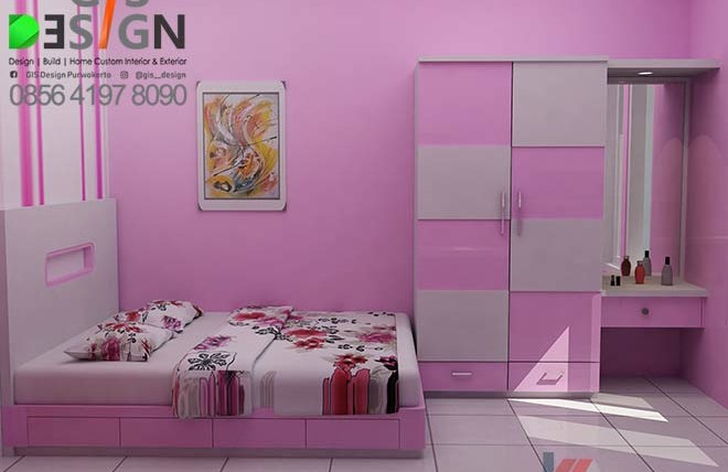 Desain Kamar Anak Perempuan