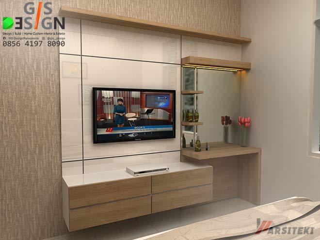 Gambar Backdrop TV Minimalis