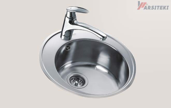 Kitchen Sink TEKA Centroval 1B Linen