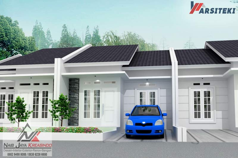 Model Rumah Type 45 Modern Minimalis