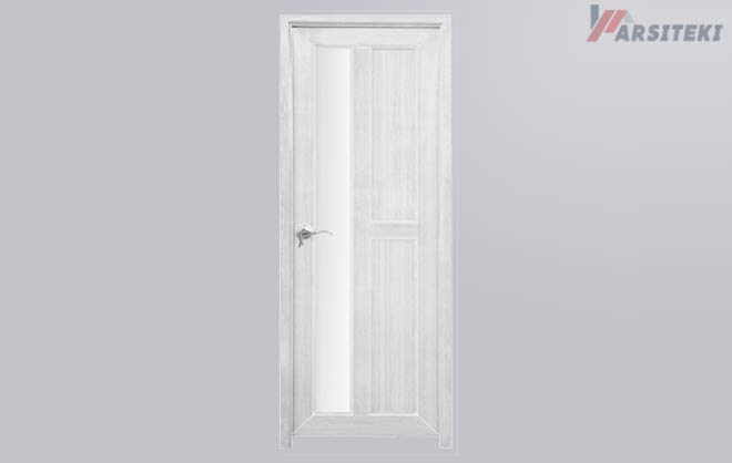 Pintu Kamar Mandi Plastik PVC Kaca