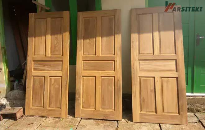 Ukuran Kusen Pintu 1 Panel