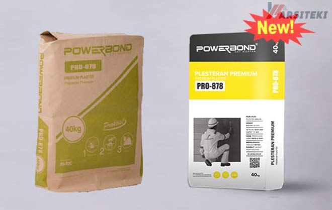 Harga Plester Instan Powerbond Pro-878