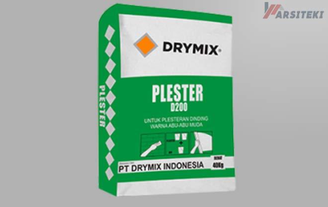 Harga Plester Tembok Instan Drymix