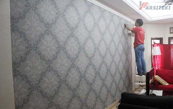 Wallpaper Dinding FiberGlass