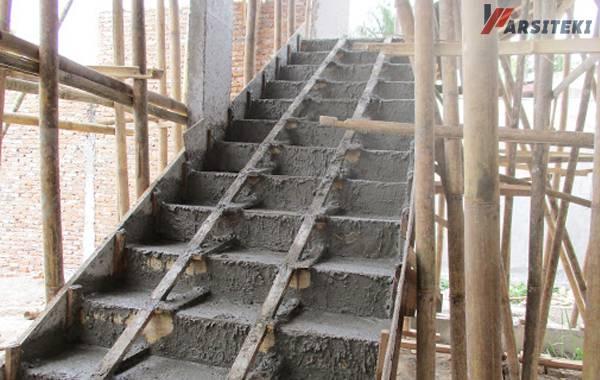 Tips Membuat tangga beton